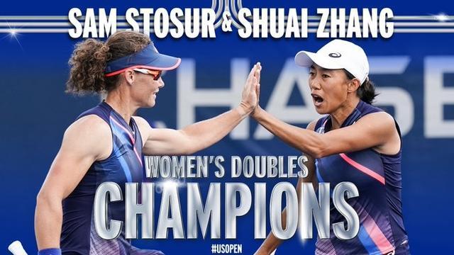 张帅/斯托瑟击败对手,问鼎美网女双决赛冠军 全球新闻风头榜 第1张