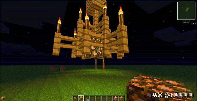 我的世界灯怎么做,我的世界:MC里除了火把还有5种照明工具,第4种很多玩家都不知道