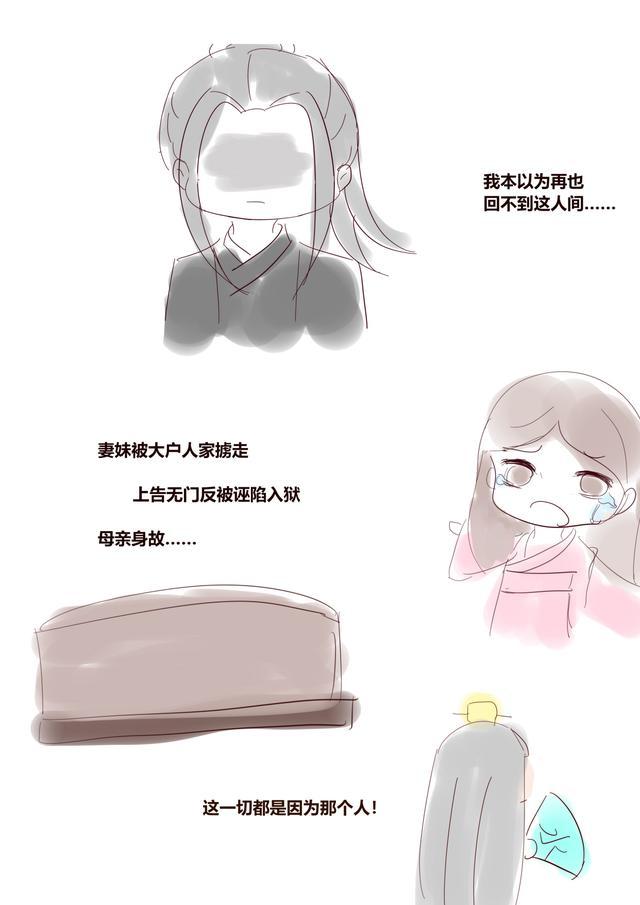 同人漫画网站,《天官赐福》同人漫画,贺玄:我回到了人间