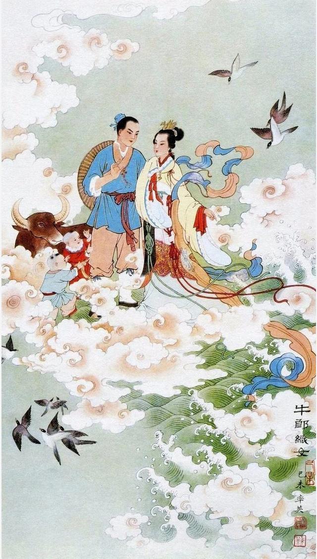 中国民间故事有哪些,中国四大民间故事:讲与孩子听