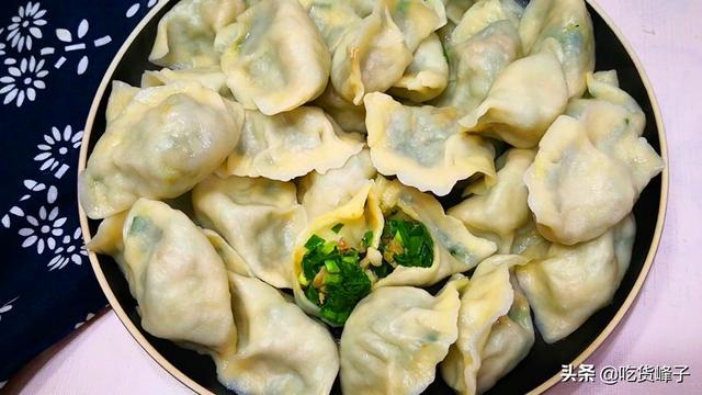 韭菜饺子馅的做法,韭菜饺子好吃有诀窍,教你正确做法,好消化不烧心,味道还格外鲜