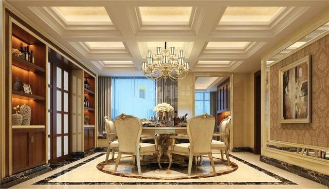 客厅吊顶装修效果图,客厅吊顶怎么安装好看?五种为客厅添彩的吊顶样式介绍