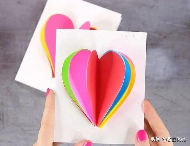 节日贺卡,女神节6款小贺卡,简单易做有创意,送礼必备手工精品