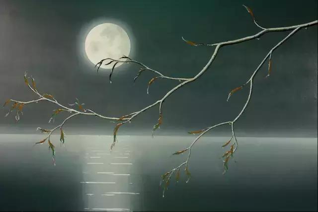 中秋月的诗,中秋读诗12首:今夜月明人尽望,不知秋思落谁家