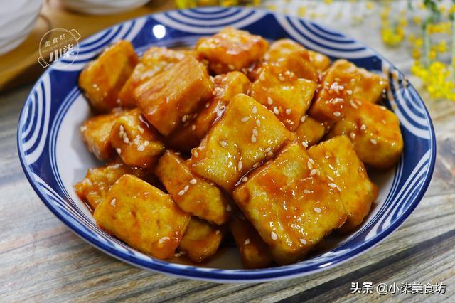 豆腐的做法大全,豆腐这样做太香了,我家隔三差五就要吃,拿排骨都不换,做法简单