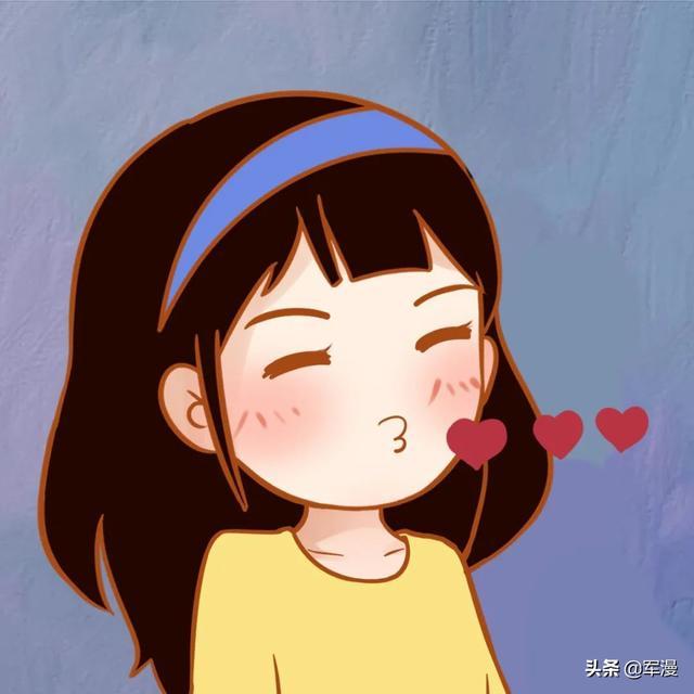 情侣头像漫画,来一波秀恩爱的情侣卡通头像