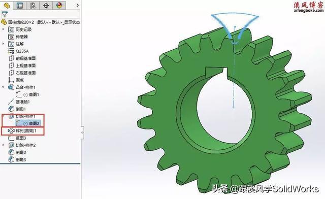 齿轮啮合的条件,你的SolidWorks齿轮配合为什么没有啮合?原因在这里