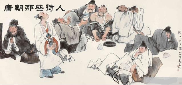 李唐的诗,唐朝各大时期最具时代性的代表诗歌