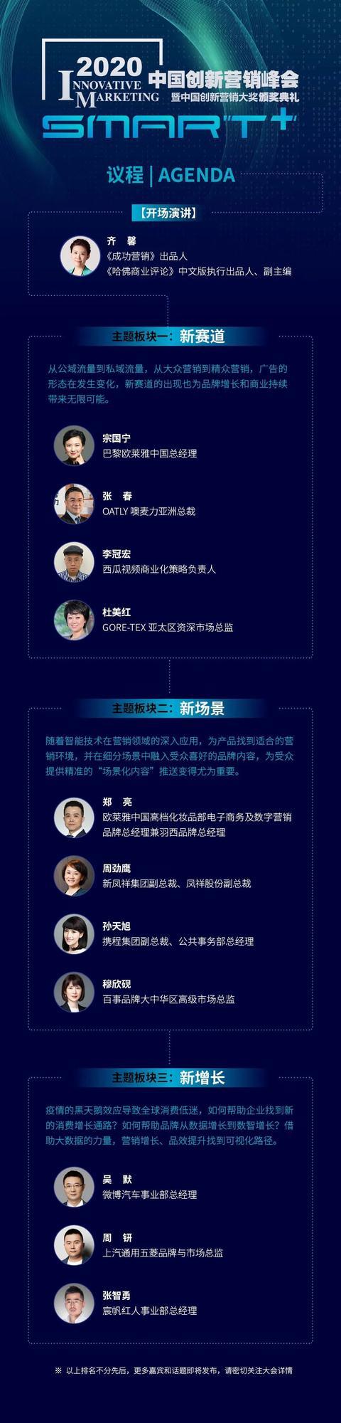 营销峰会,创新不止、营销无界:2020中国创新营销峰会换个方式与你相约