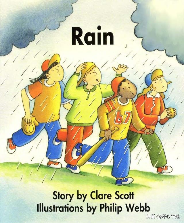 适合低龄孩子学英语系列:有声英文童谣韵文《Rain》