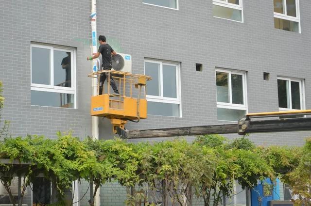 奋斗小学,奋斗小学教学楼修缮项目顺利竣工