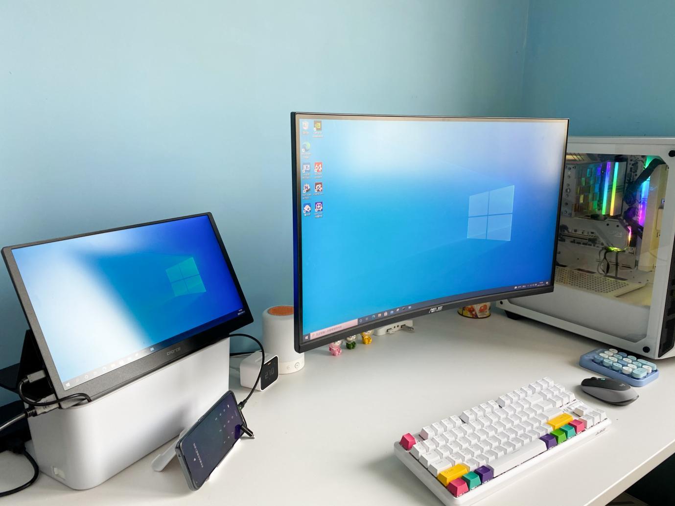 桌面再升级,妙用显示器支架,这一点好处很多人想不到