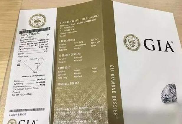 GIA证书