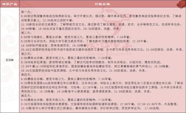 """""""研学齐鲁, 探秘水浒""""新时代小好汉研学夏令营火爆开启!(图85)"""