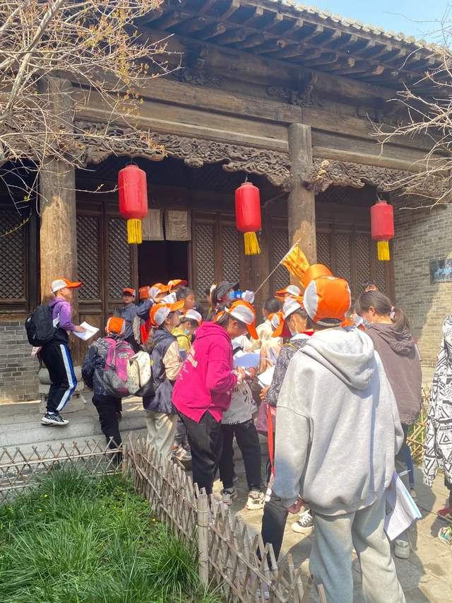 2021郓城水浒好汉城春季研学旅行正在进行中(图11)