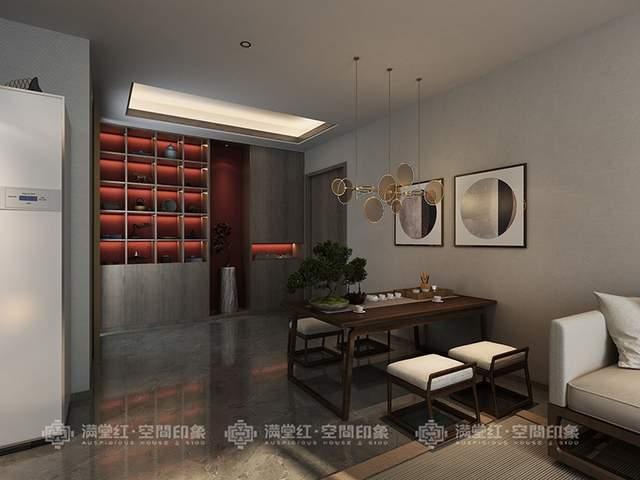 南波湾新中式茶室