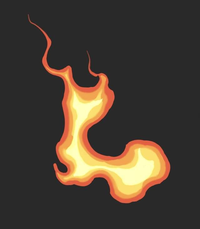 想画出动漫年夜招殊效吗?教你快速画出动漫火焰殊效技能!