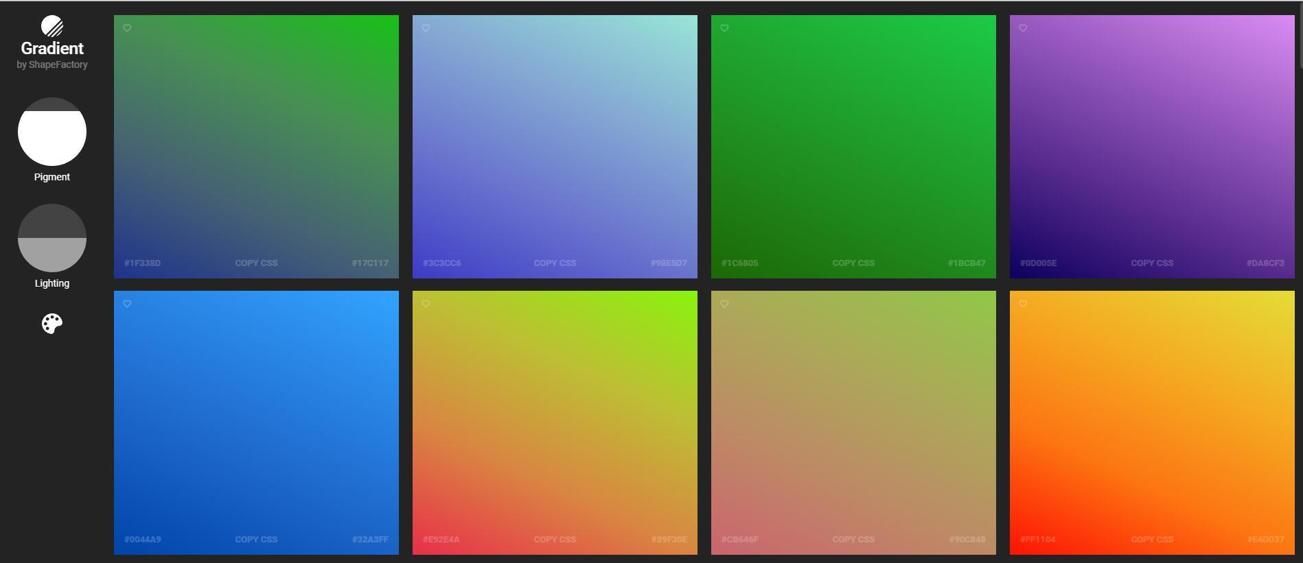 渐变色双色调图片Logo等一键生成 - ShapeFactory