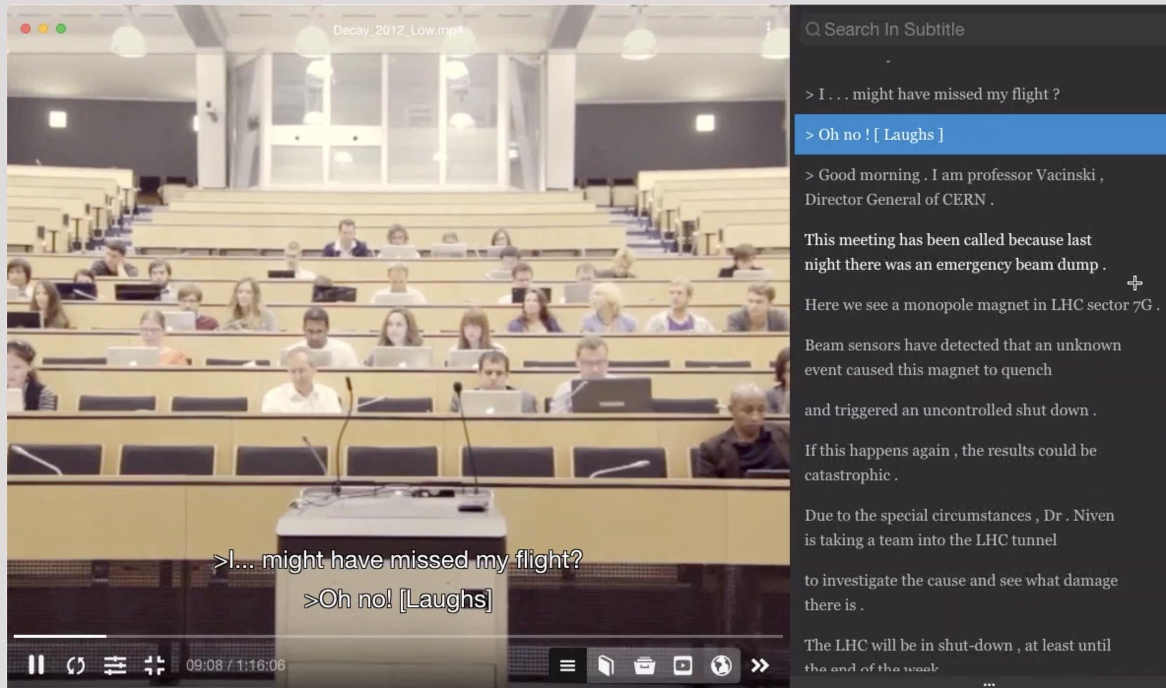 macOS 优秀应用分享四:BeyondPlayer,英语学习者的视频播放器的图片-高老四博客