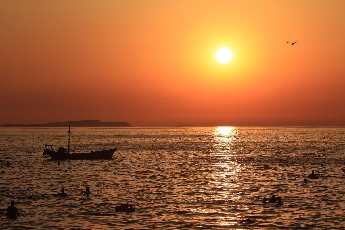 夕阳-唯美桌面壁纸
