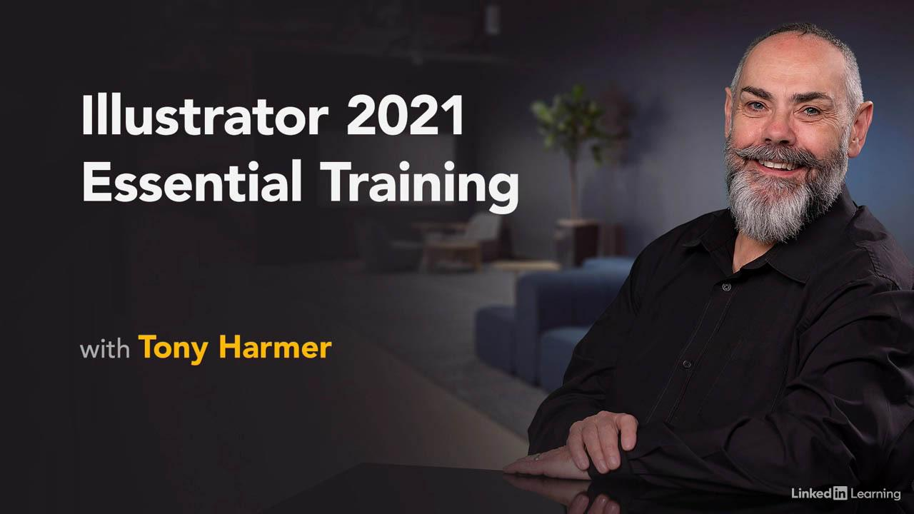 Illustrator 2021 Essential Training – Lynda AI 2021全面介绍基础教程