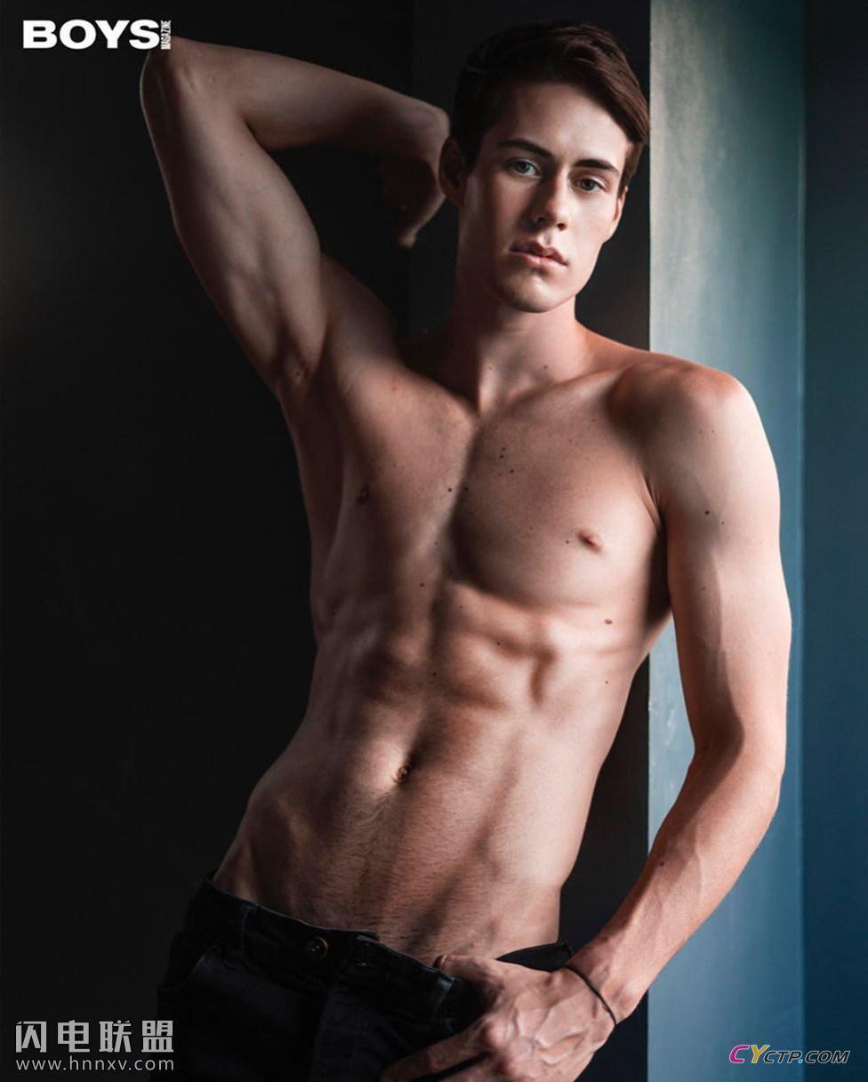 欧美肌肉男神腹肌图片
