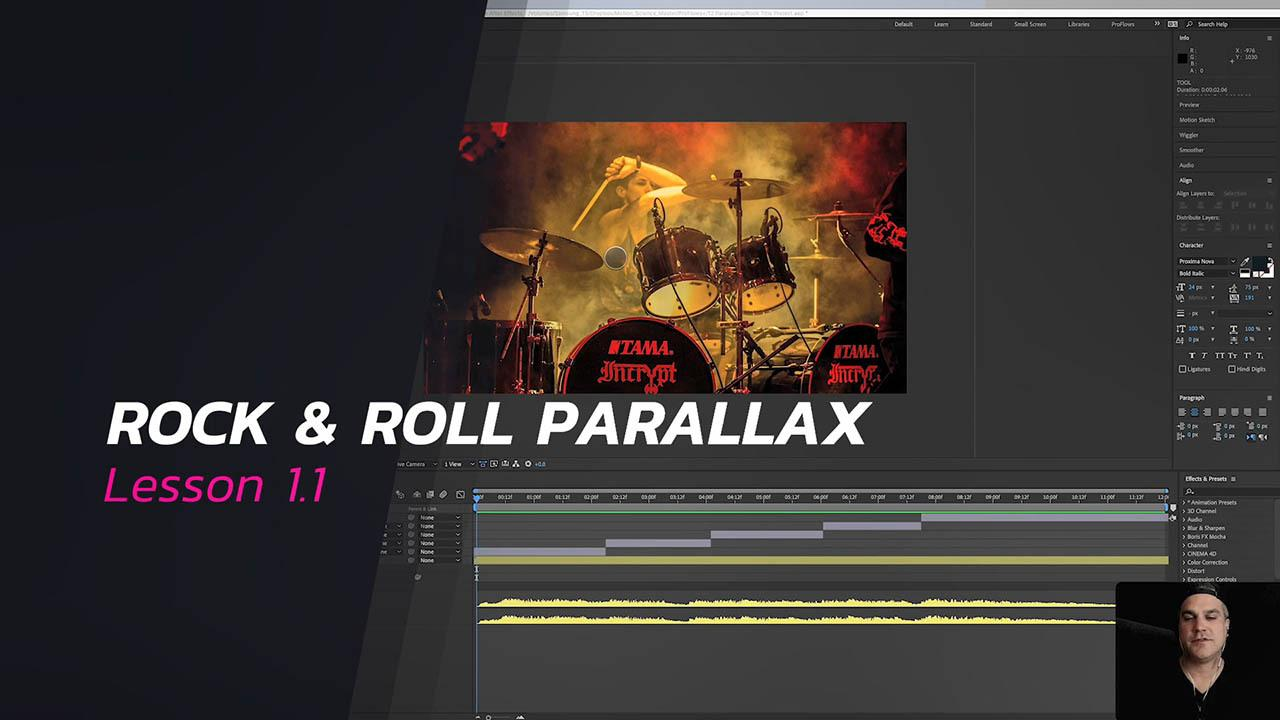 Rock & Roll Parallax – Motion Science