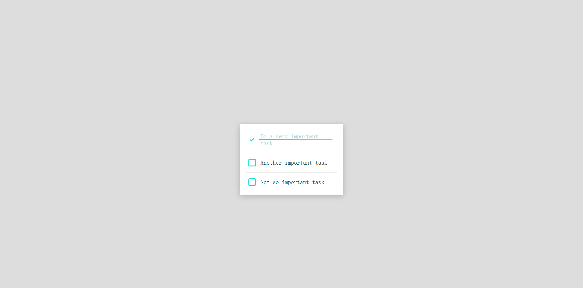 CSS复选框动画