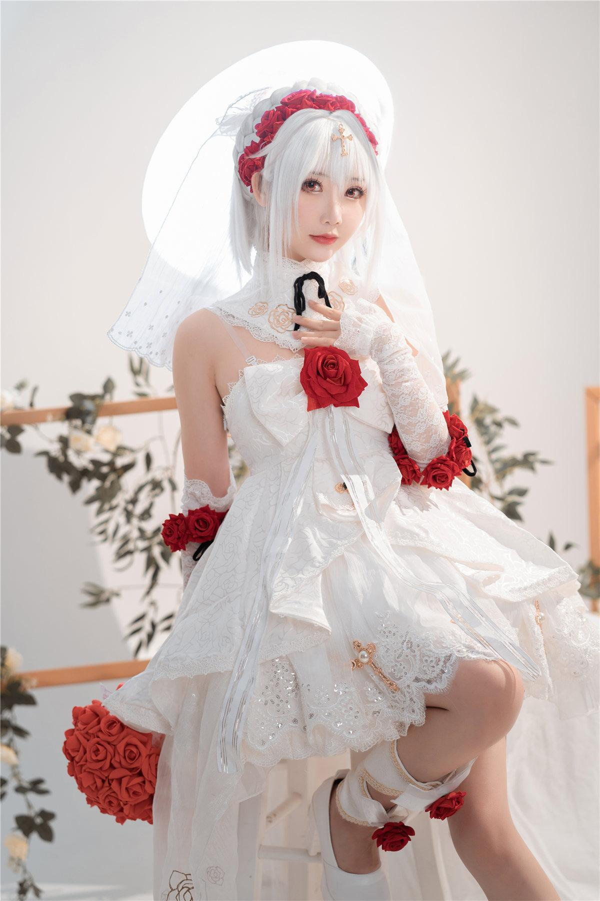 面饼仙儿 德丽莎婚纱主题写真