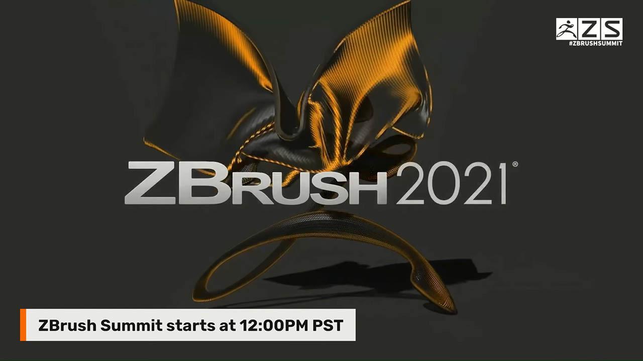 ZBrush官方2020峰会 第1天全视频 KeyShot10 ZB2021