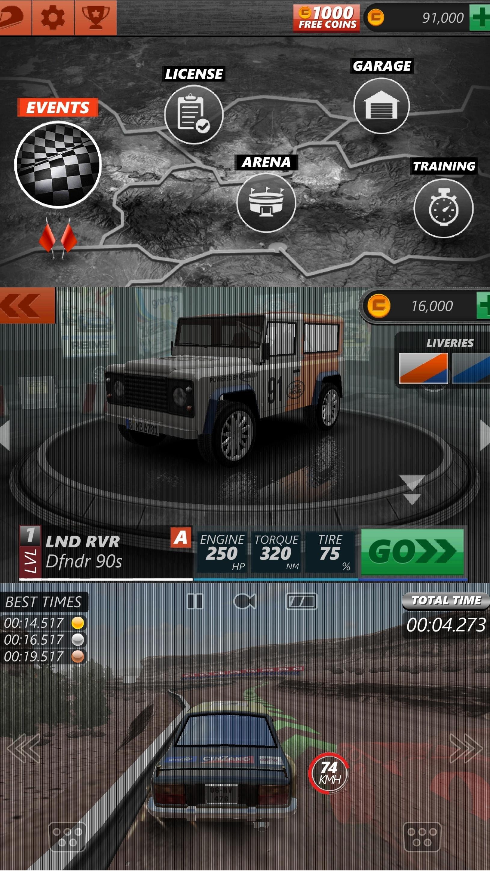 拉力赛车EVO优化版截图1