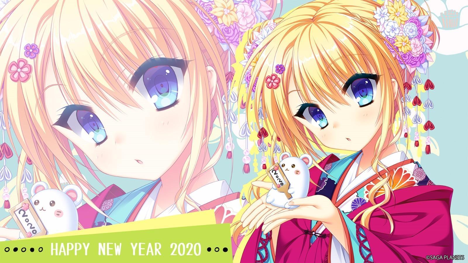 【新年壁纸】美少女游戏品牌的新年贺图-萌宅之家