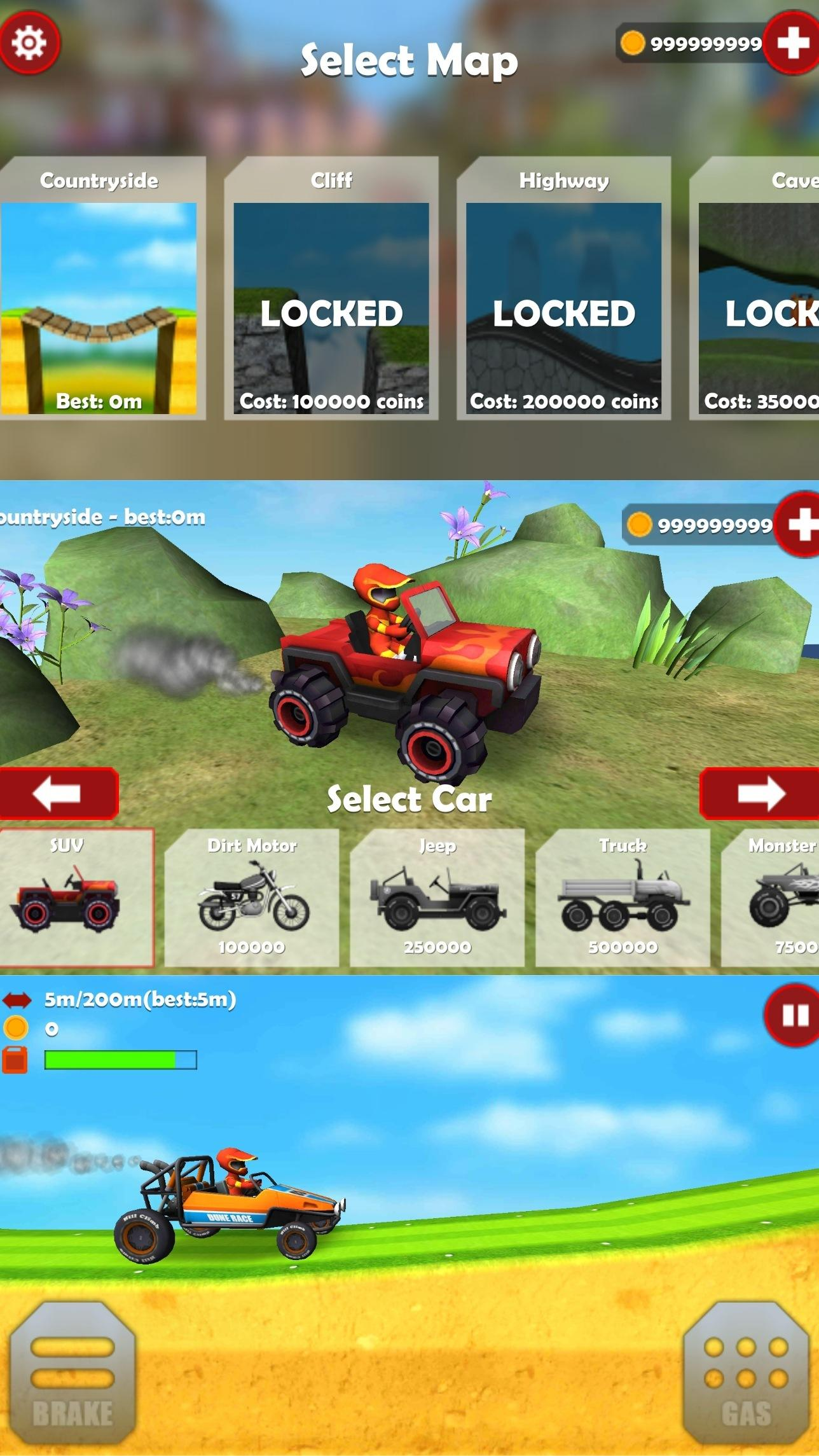 山地越野车3D优化版截图1