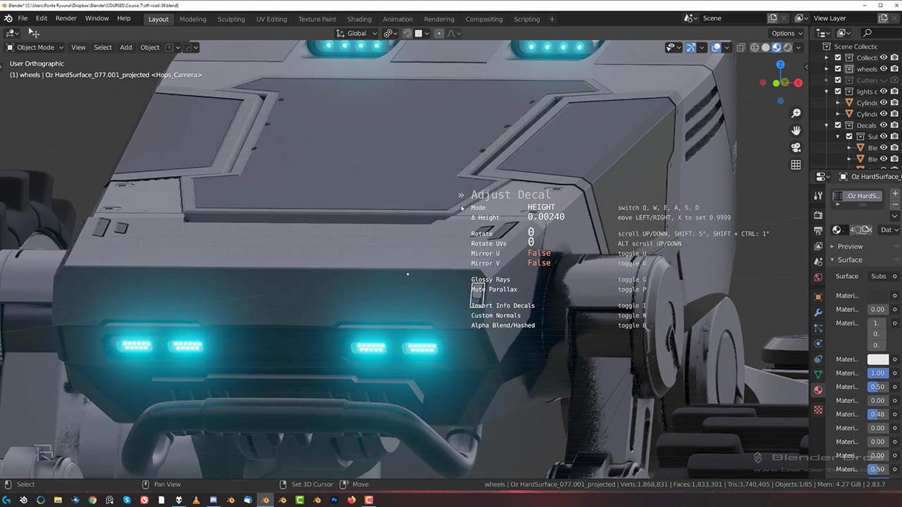 The ULTIMATE Guide to Hard Ops and Boxcutter – Gumroad Blender硬面建模教程