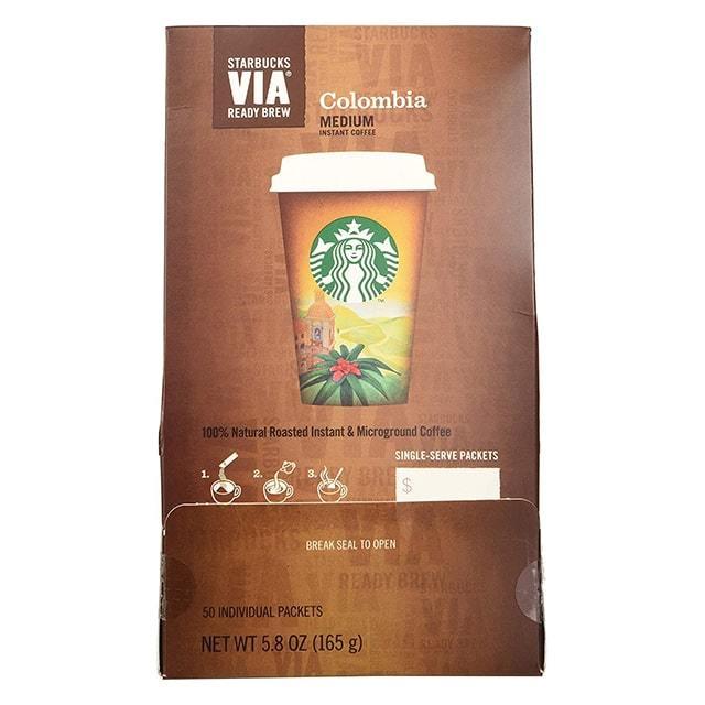 Starbucks VIA Ready Brew Coffee Colombia