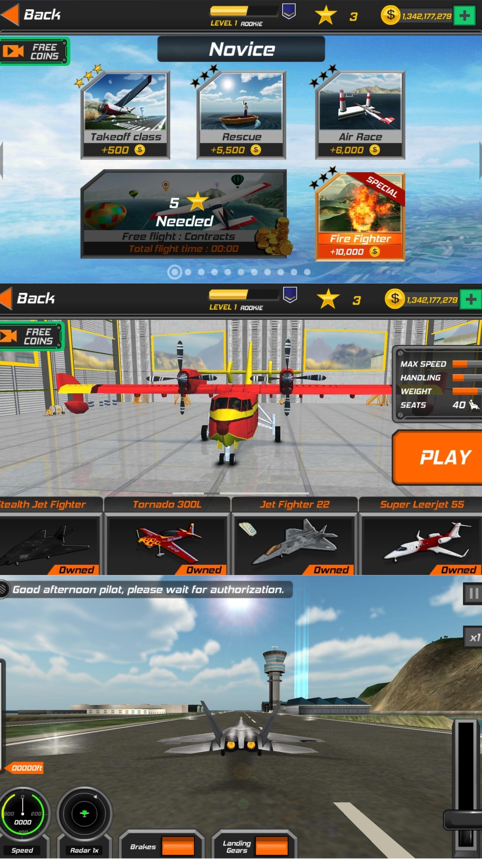 真实飞行模拟3D优化版截图1