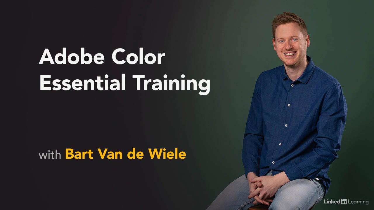 Adobe Color 色彩配色教程 Adobe Color Essential Training