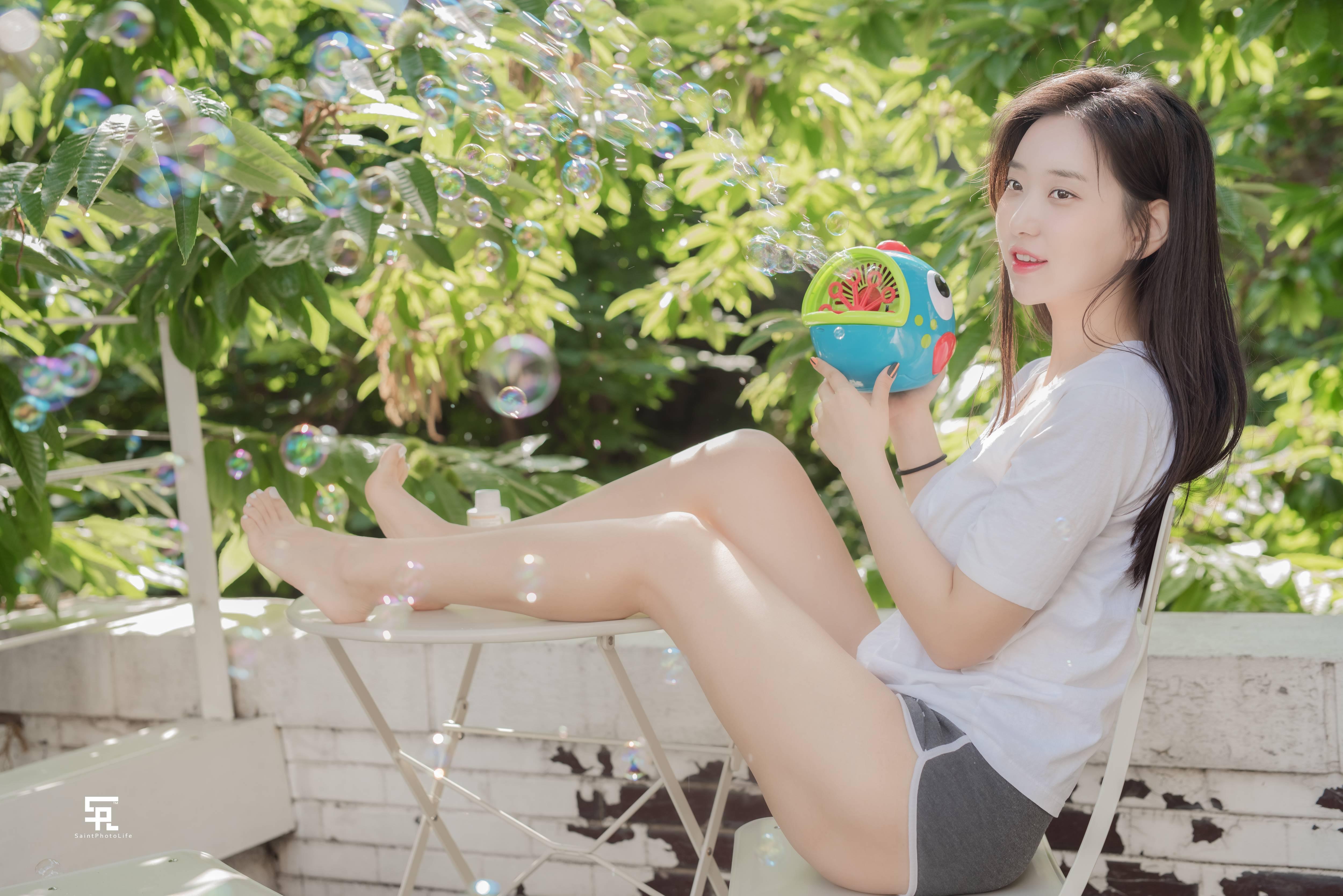 韩国网红申才恩,清纯可爱的脸蛋下,却藏着魔鬼般的身材!