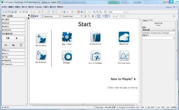 Maplesoft Maple破解版v2019电脑版下载