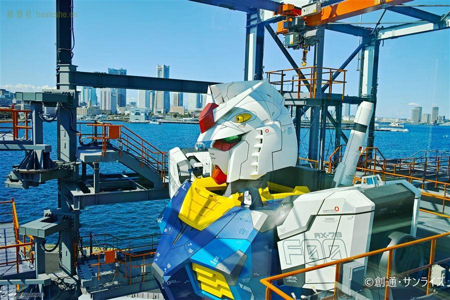 GUNDAM FACTORY YOKOHAM 等身可动高达 横滨 高达40周年