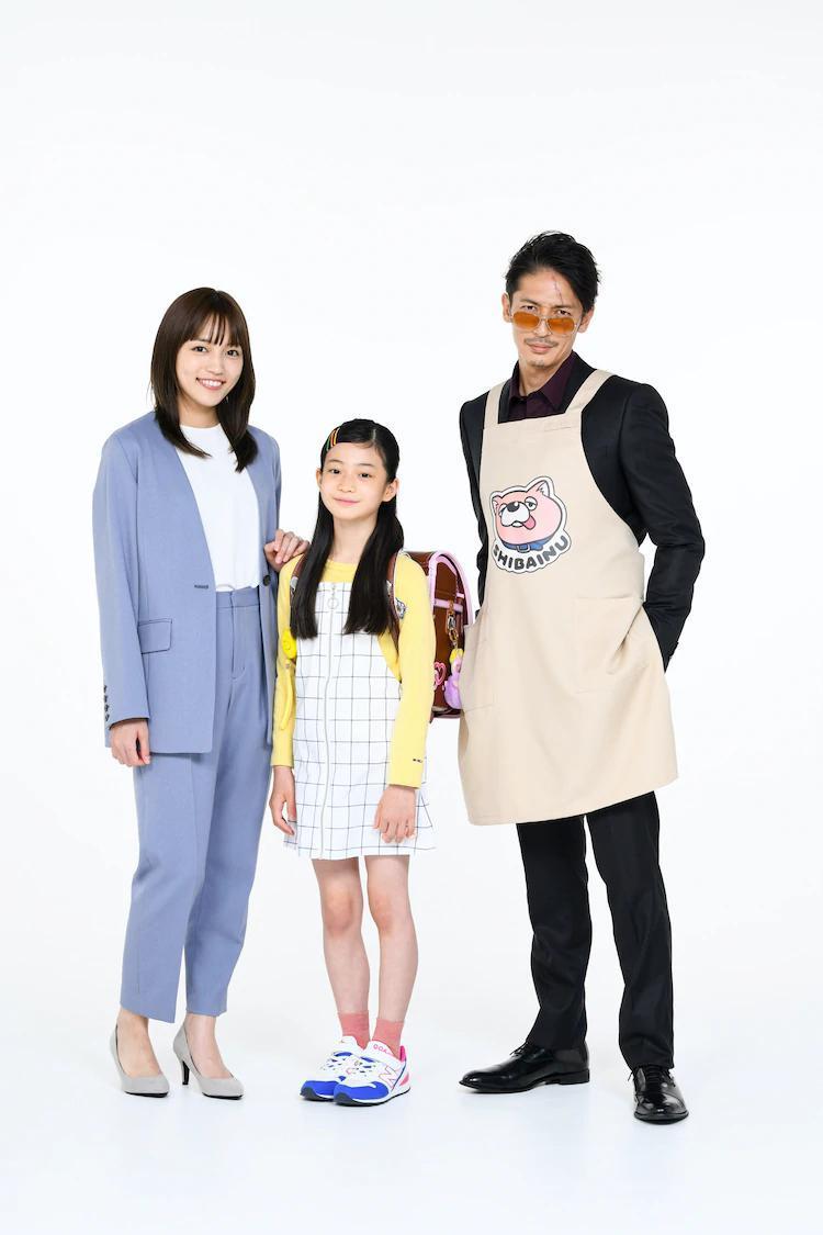 极主夫道 原创人物 女儿 玉木宏 川口春奈