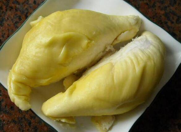 榴莲的果肉