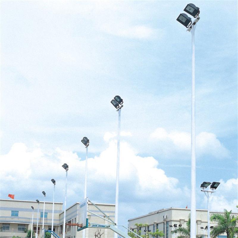 毕节室外球场高杆灯杆厂家 运动场照明灯光布置规范