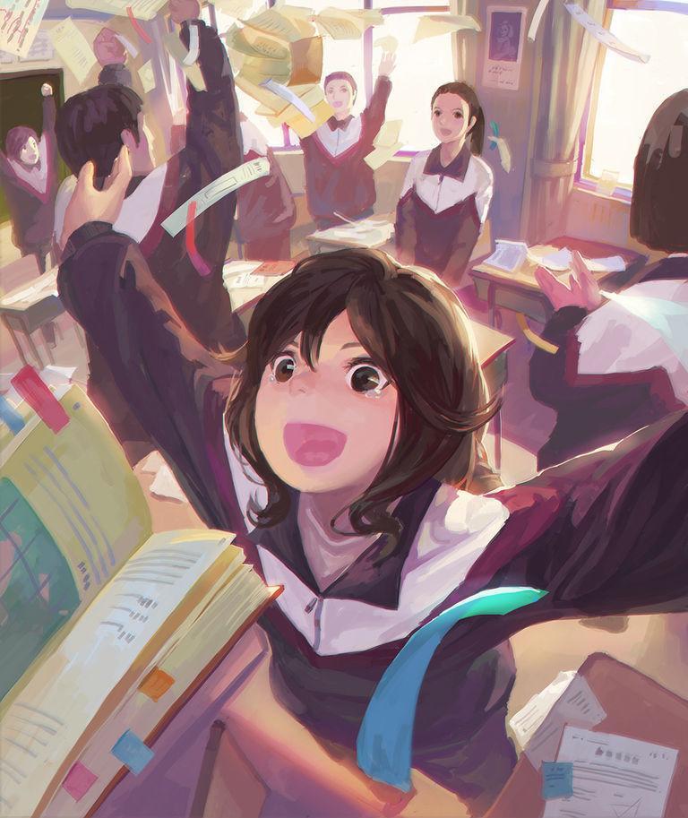 【Pixivision】看了想一起学习的插画特辑 – 笔记上青春。