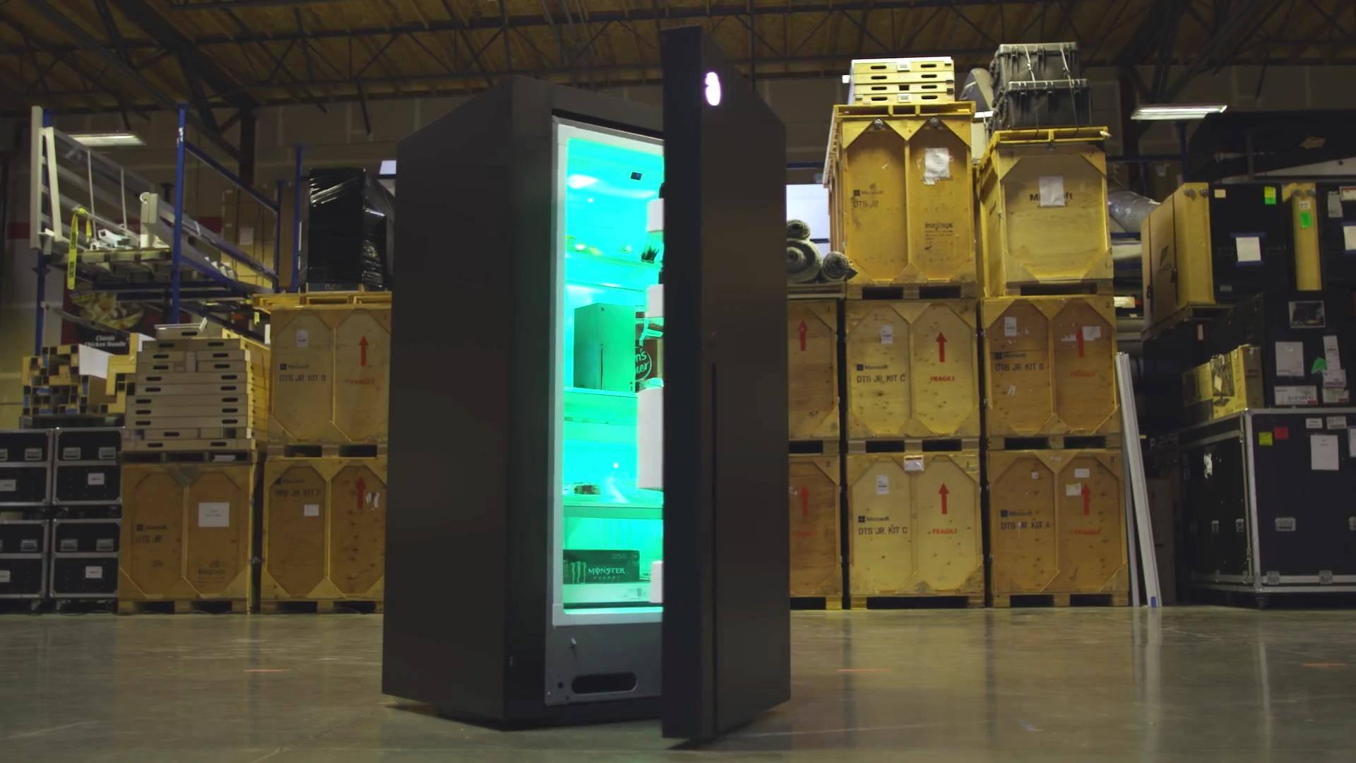 XBOX X 冰箱 微软