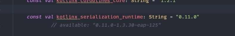buildSrcVersions Update