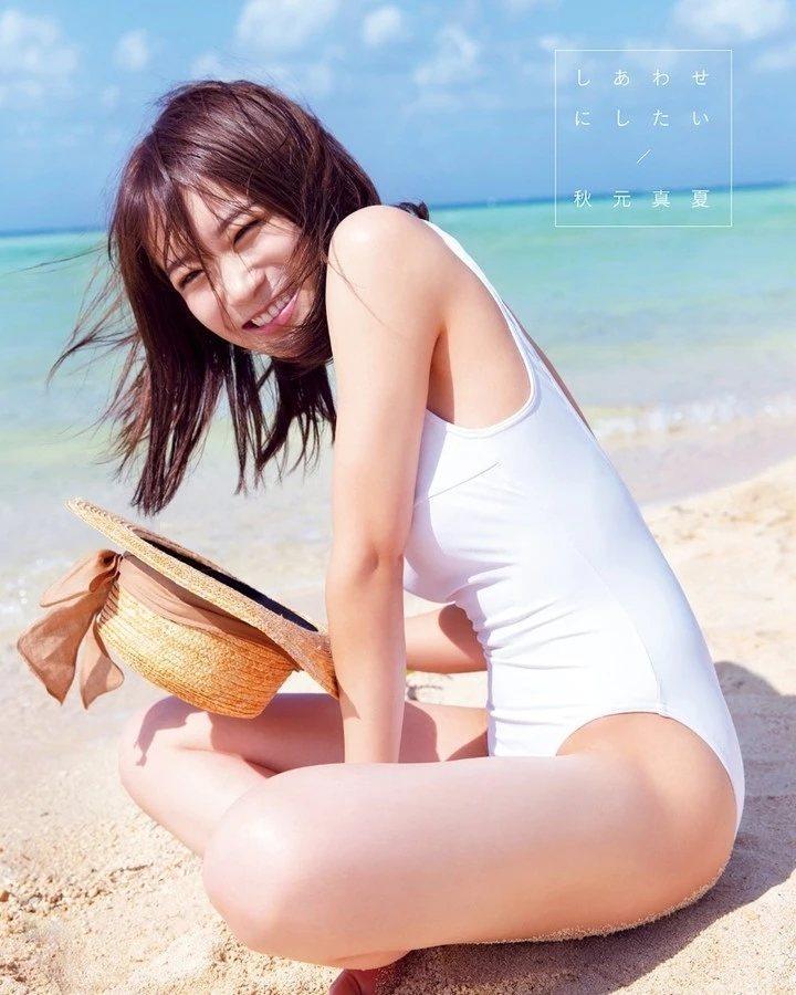 乃木坂46队长秋元真夏2nd写真集《想要幸福》『しあわせにしたい』精选