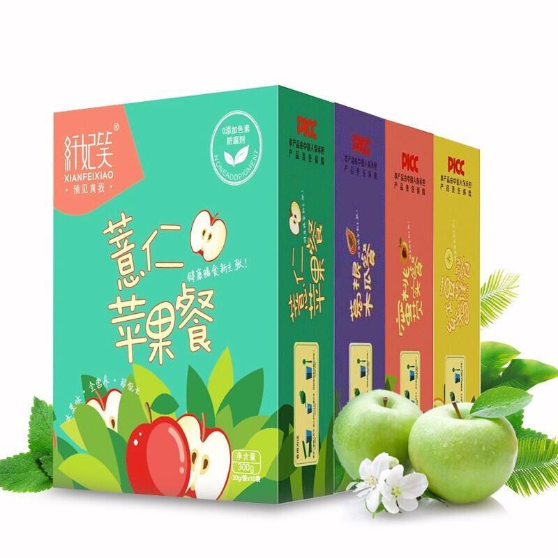 纤妃笑 红豆香蕉餐 10袋*盒