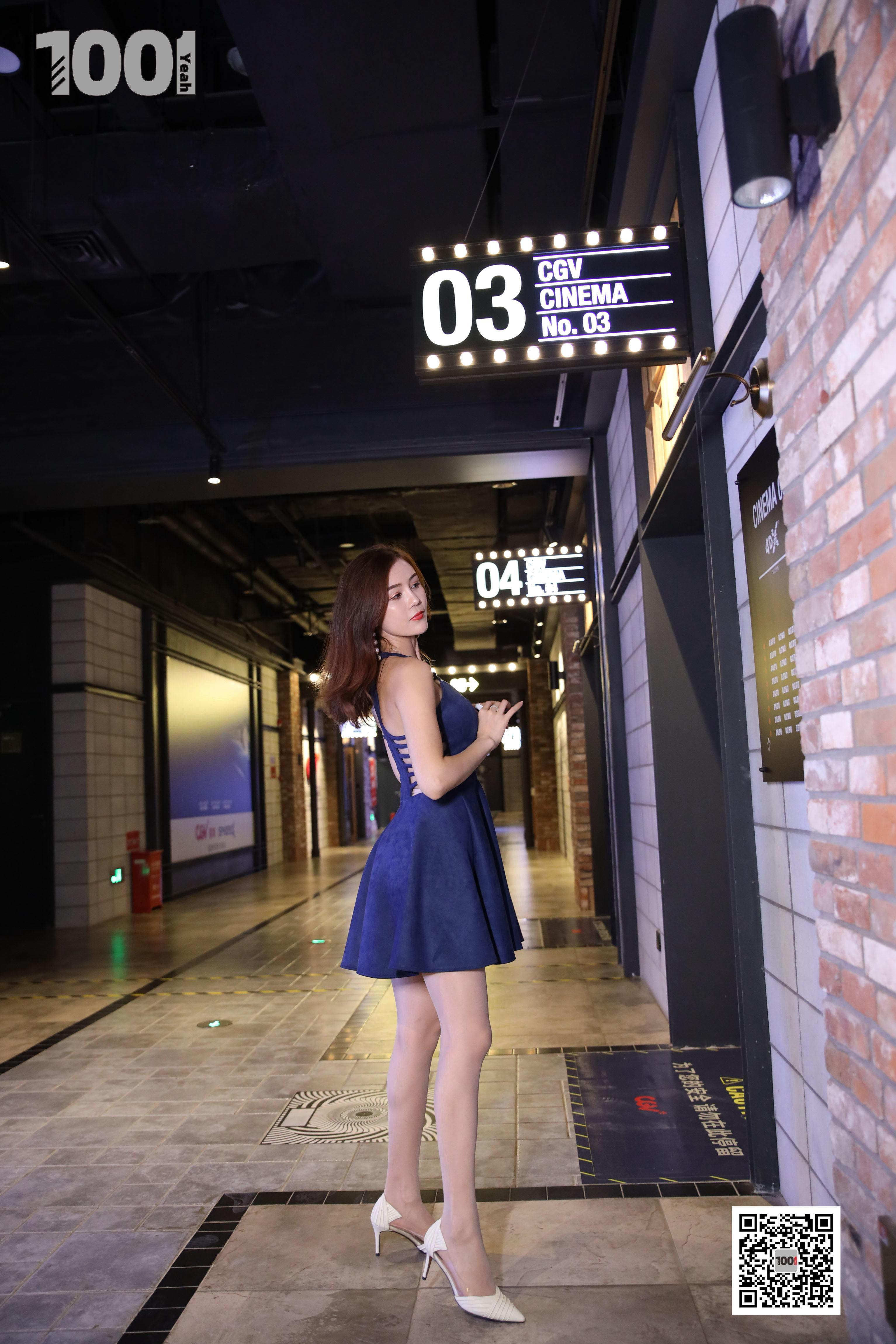 1001夜丝事 模特:Lucy 电影院2 (邀请你一起看电影,求带)