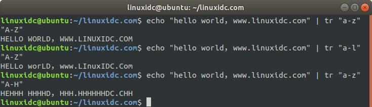 tr文本处理命令的使用方法tr文本处理命令的使用方法